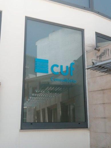 Consultório CUF Ourém janela