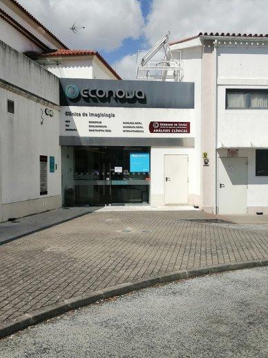 Consultório CUF Torres Novas fachada completa